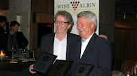 Ingo Grady Accepts Awards from David Lawrason