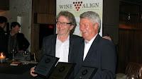 Ingo Grady Accepts Awards from David Lawrason