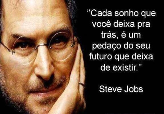 """""""As pessoas não sabem o que querem, até mostrarmos a elas."""" (Jobs)"""