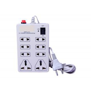 Shopclues : Buy Mini Power Strip with 8 Outlets at Flat 69% Off + 25% Cashback