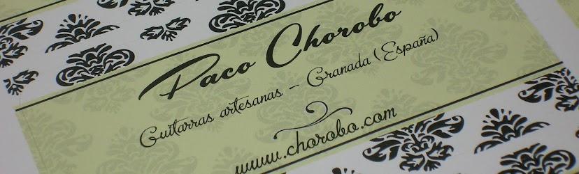 Paco Chorobo - Guitarras Artesanas