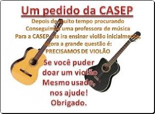 Aula de Música na CASEP