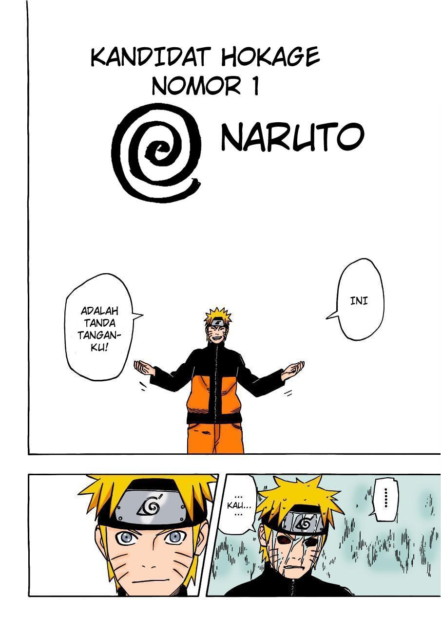 Manga Naruto 495 Full color Bahasa indonesia
