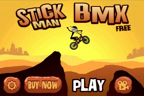 Stickman BMX Free App Game By Traction Games