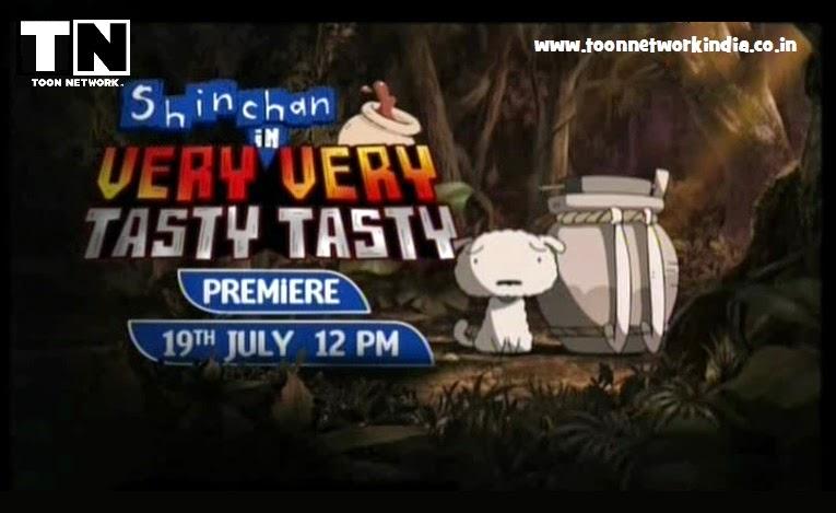 ShinChan In Very Very Tasty Tasty In HINDI Full Movie [HD] (2013)