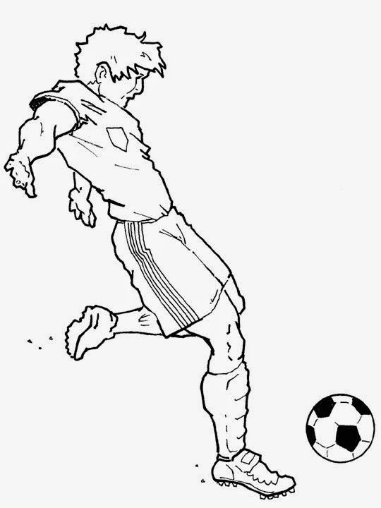 Dibujos y Plantillas para imprimir: Dibujos de Futbol para imprimir ...
