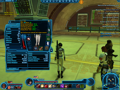 SWTOR - Trooper Primary Stat