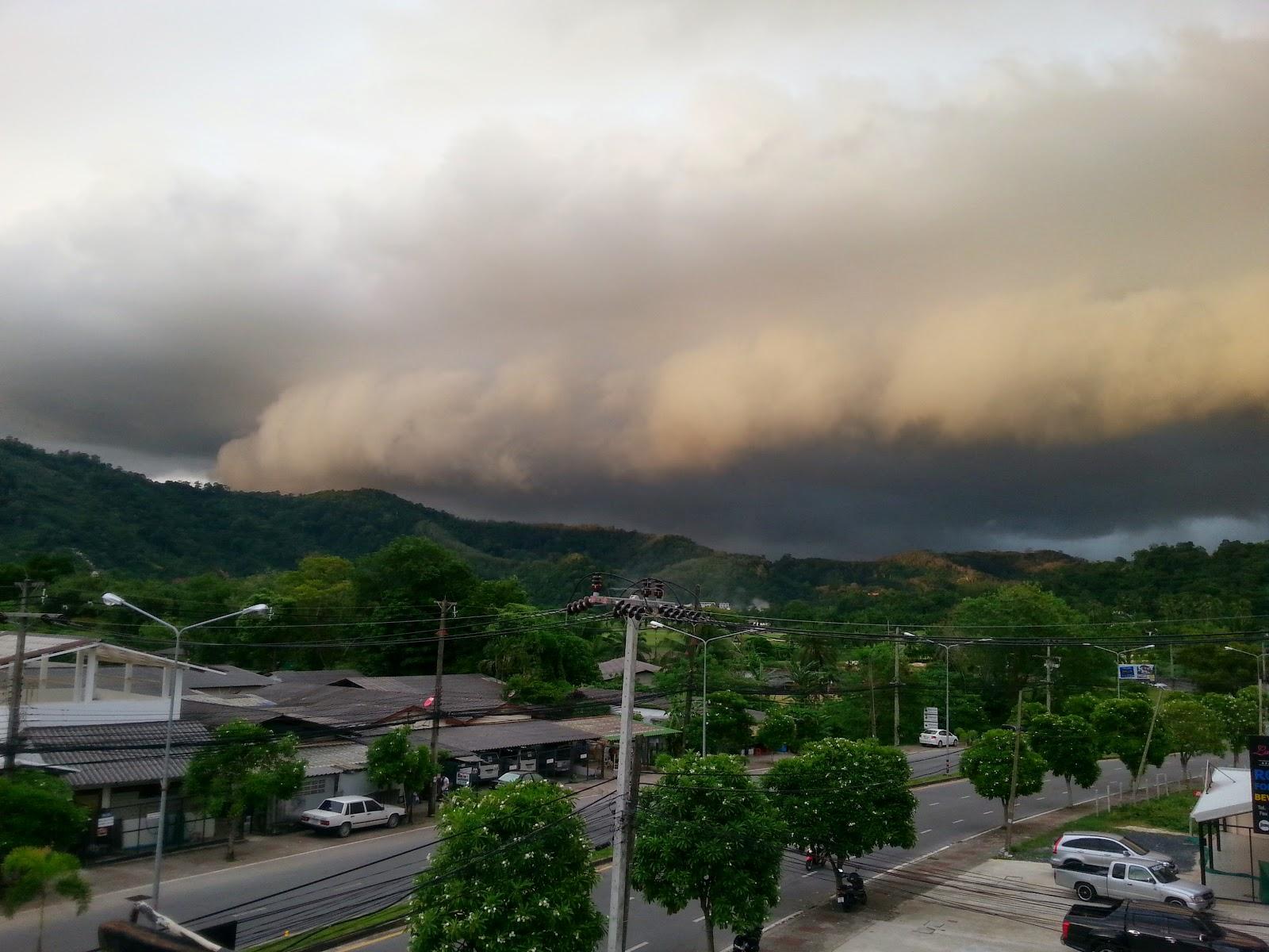 Storm over Kathu -Phuket