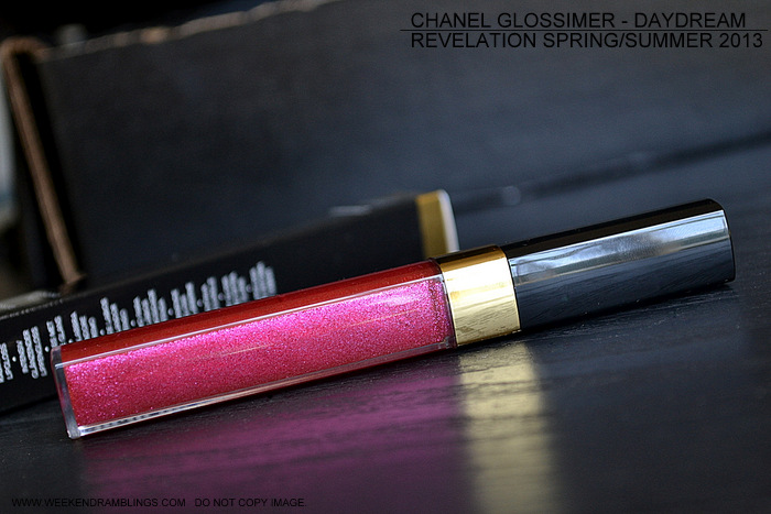 chanel levres scintillantes glossimer lipgloss daydream 174 revelation makeup collection spring summer 2013 indian beauty blog reviews photos swatches fotd looks ingredients