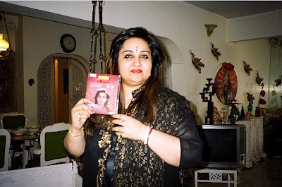 Current photo of Reena Roy - looking fatty