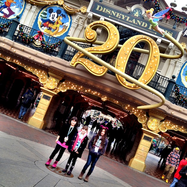 Celebrating 20 years of disneyland Paris