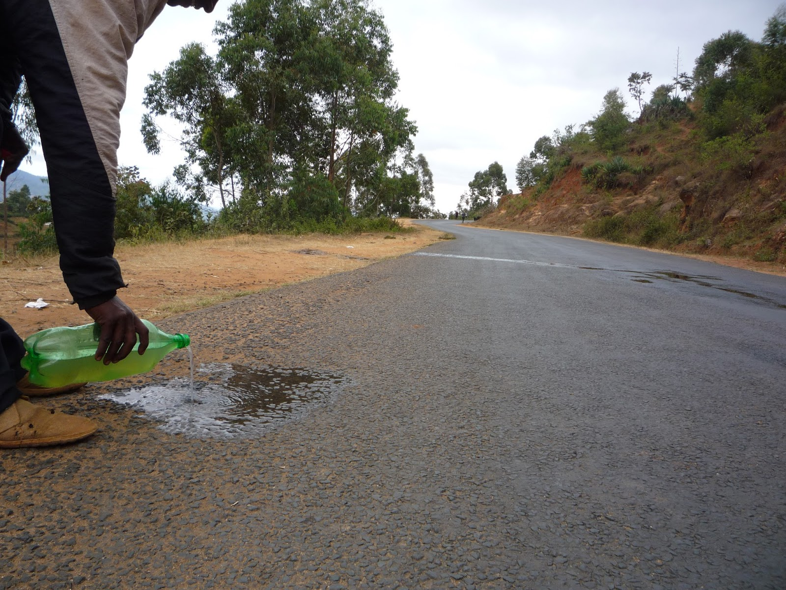 Image result for kenyan road that defies gravity