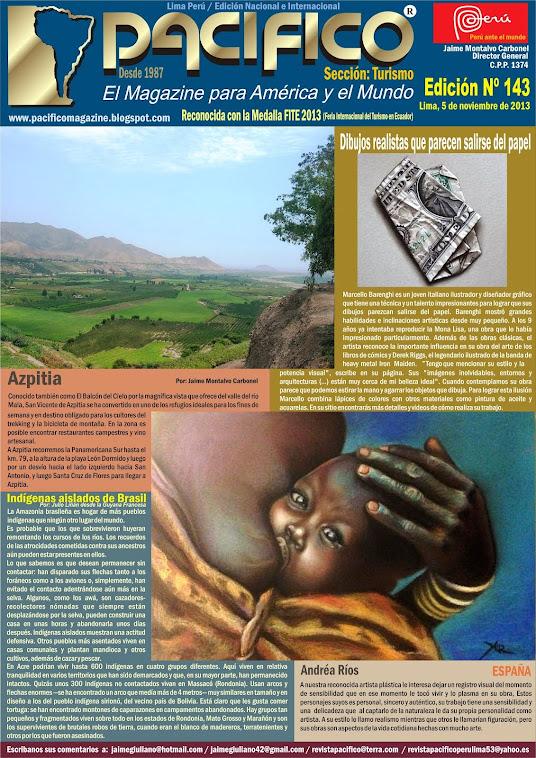Revista Pacífico Nº 143 Turismo