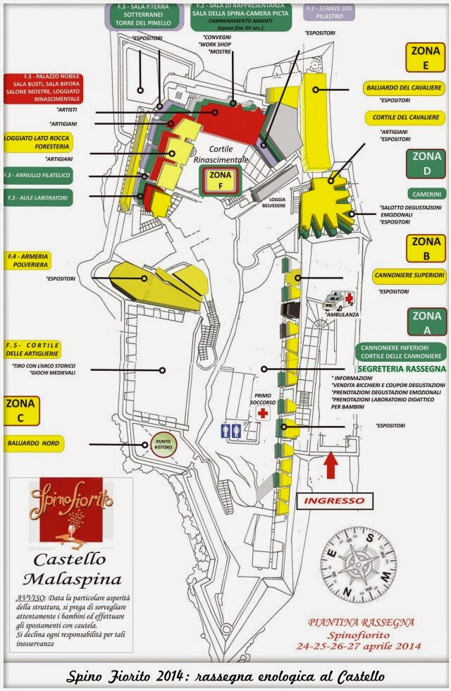 SpinoFiorito 2014 - Mappa