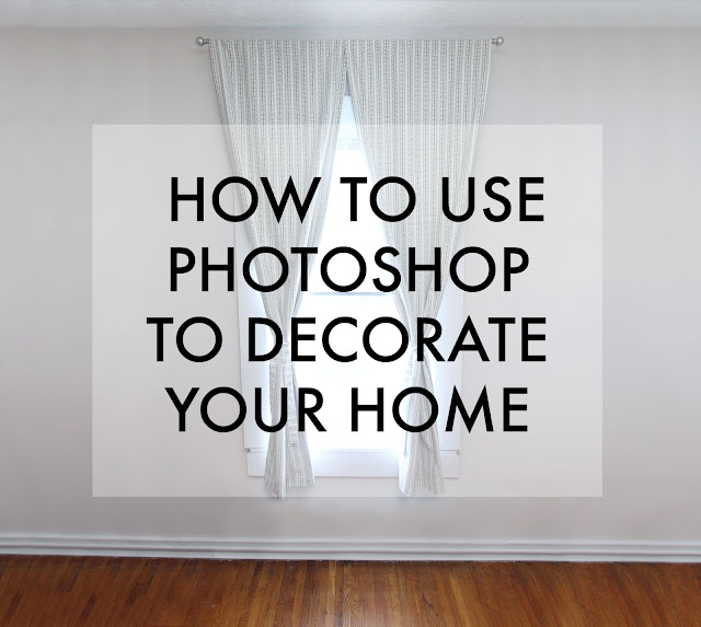 Use Photoshop to help you decide before you buy when redecorating!