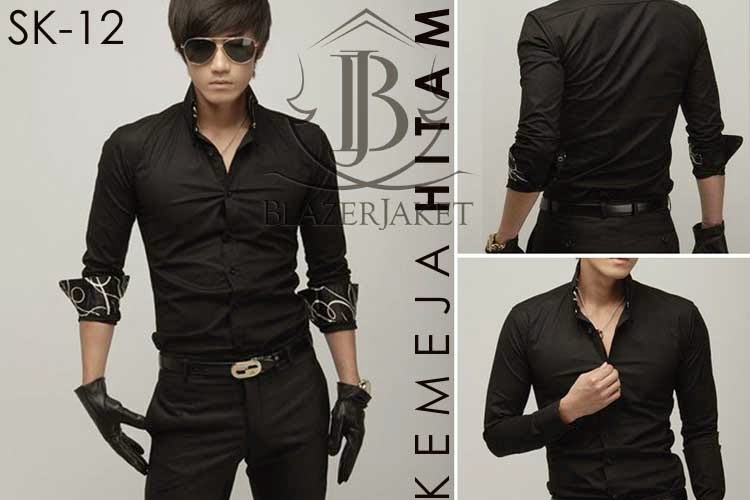 Kemeja Hitam Korea Style blazer jaket blazerjaket