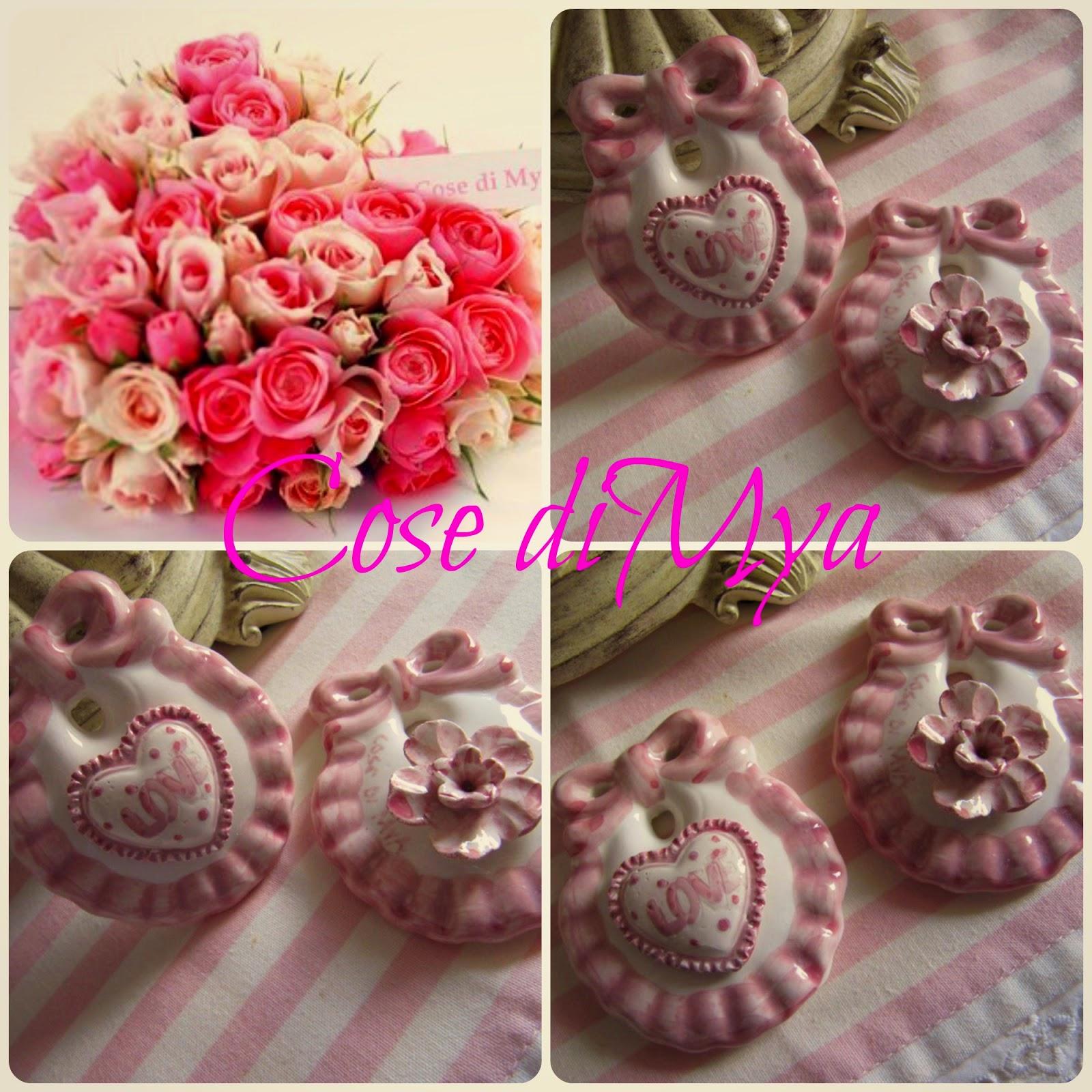 Bavaglini in ceramica