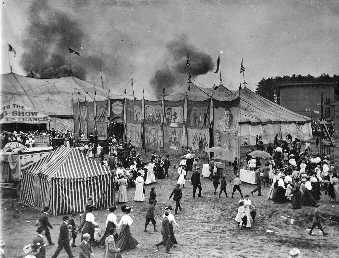 grems doolittle library collections blog the day the circus came