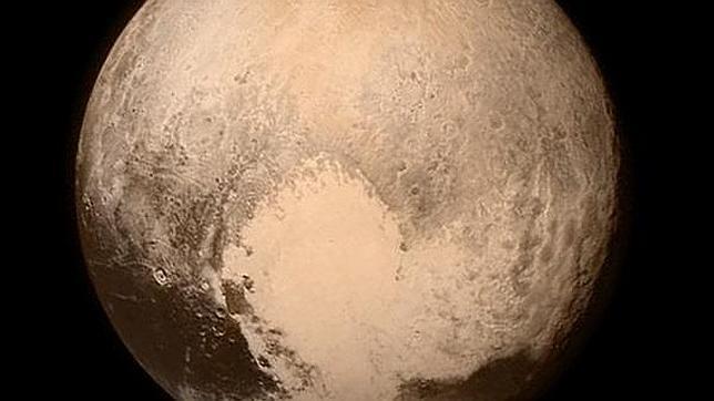 Ültima fotografía de Plutón