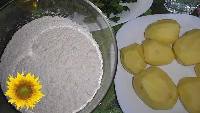 pyragėlis su bulvėmis