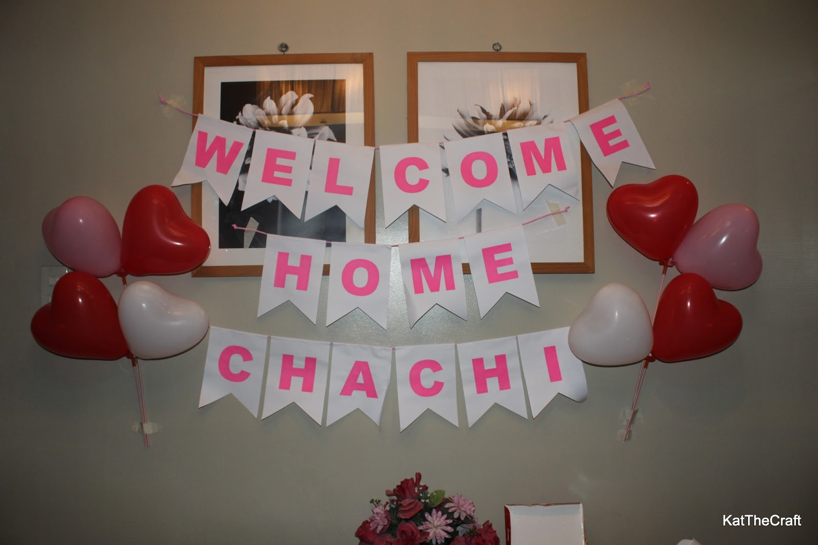 Diy welcome home banner images for Diy welcome home decorations