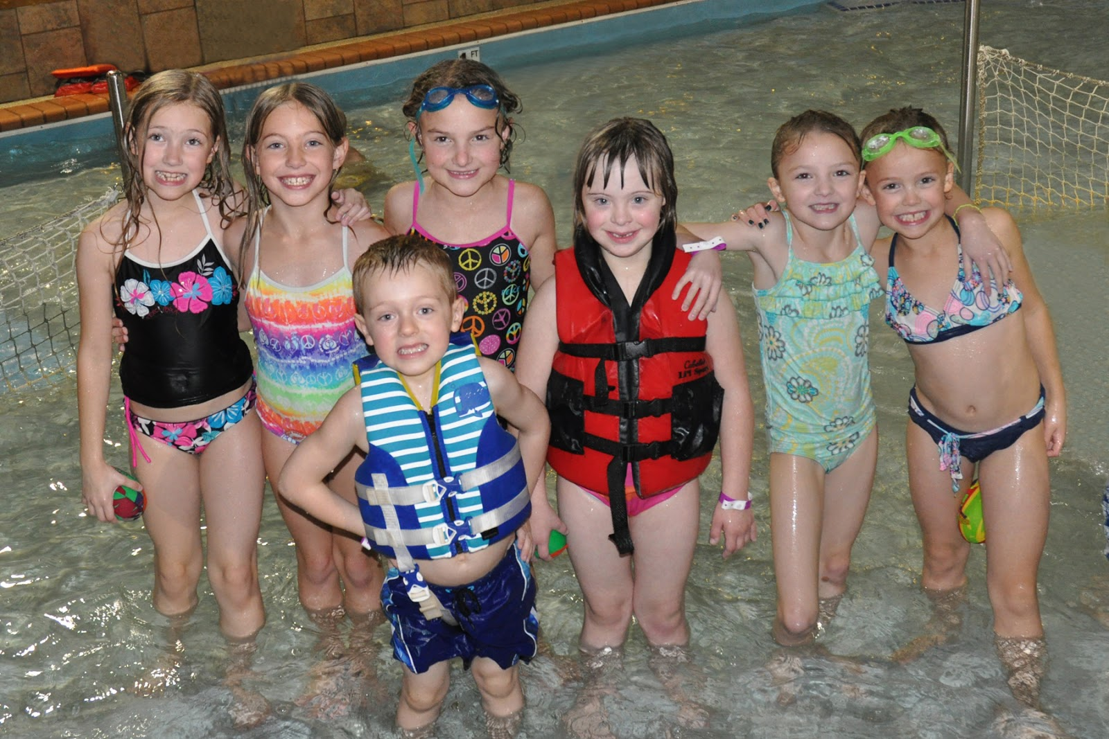 8th grade pool party party included some hotel pool images frompo