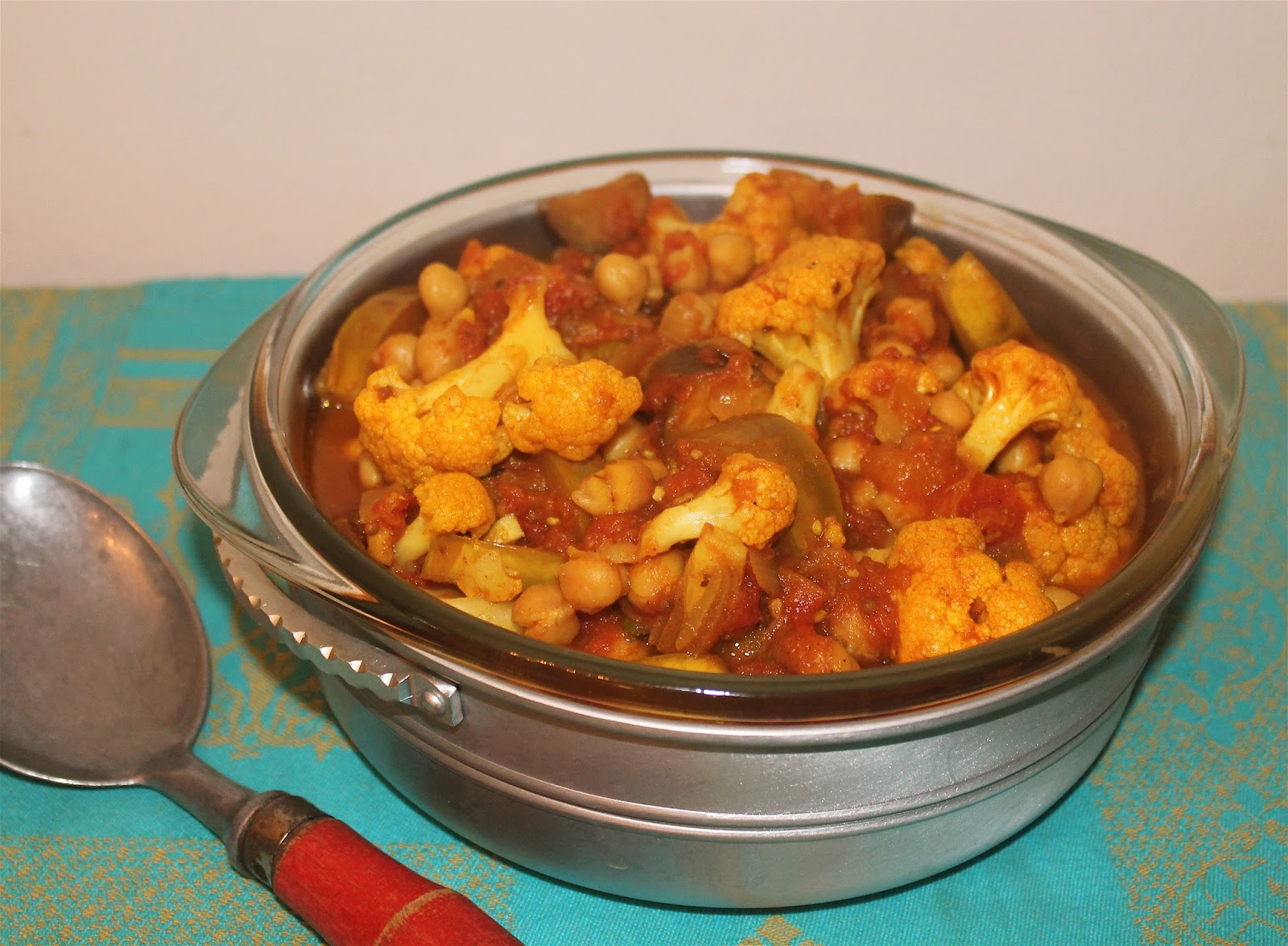 Indian-Spiced Eggplant and Cauliflower Stew pics