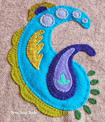 How To Applique With Wool