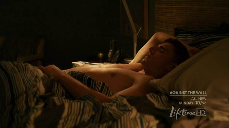 Andrew W. Walker Shirtless in Against the Wall s1e01