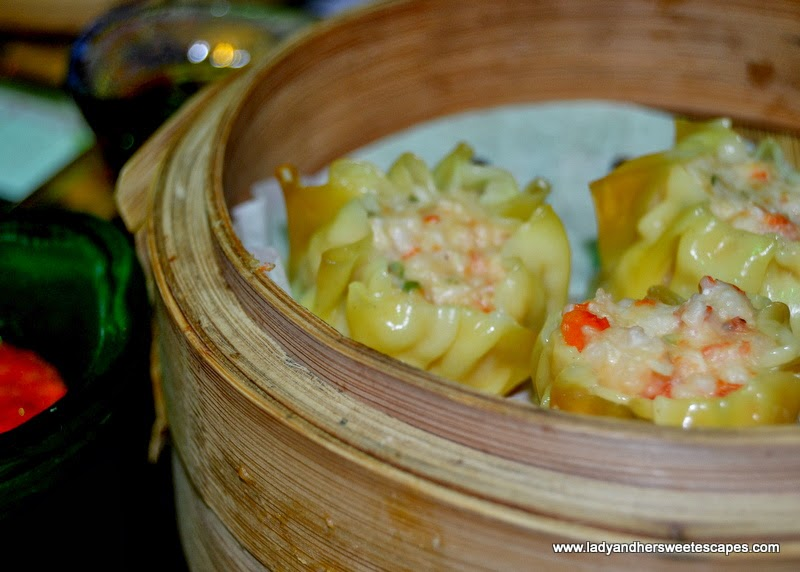 Chop Suey restaurant's steamed prawn dumplings