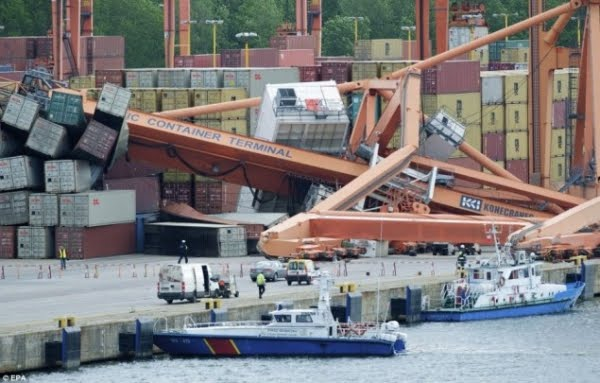 newspaper articles mobile alabama container terminal Container terminal starts up an oil spill in new orleans has prompted an unexpected first for the mobile container terminal the hapag-lloyd container ship rome.