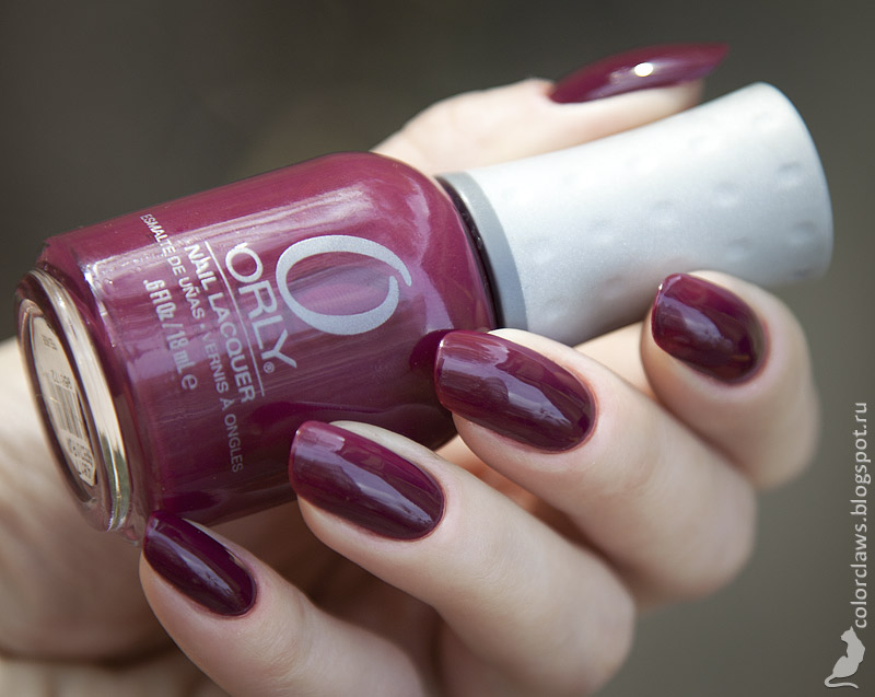 Orly Perfectly Plum