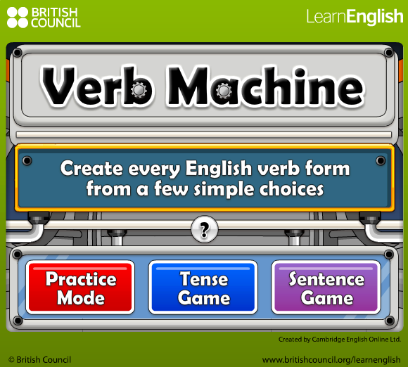 PLAY VERB MACHINE