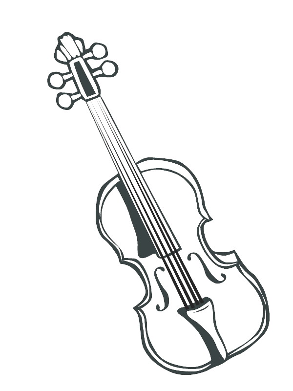 instruments coloring pages - photo#3