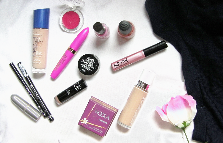 beauty makeup clean out blog blogger flatlay