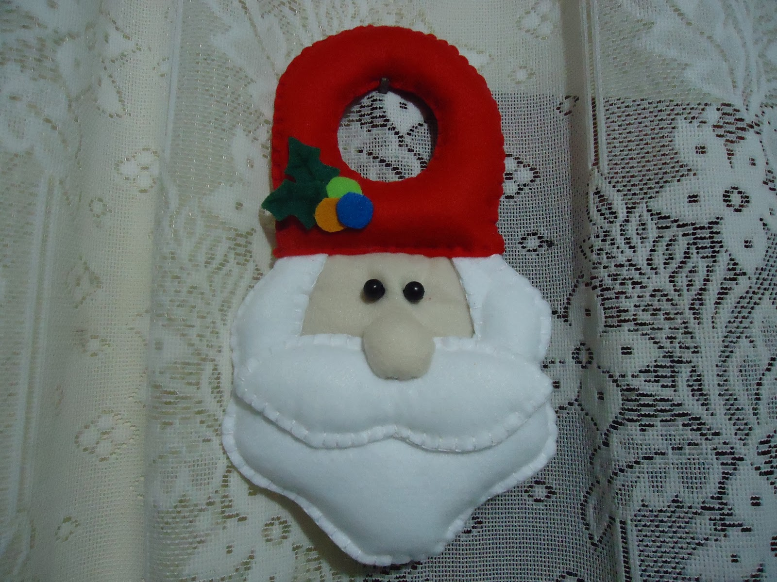 Armario Leroy Merlin Basic ~ F u00ea Arte Artesanato em Feltro Natal