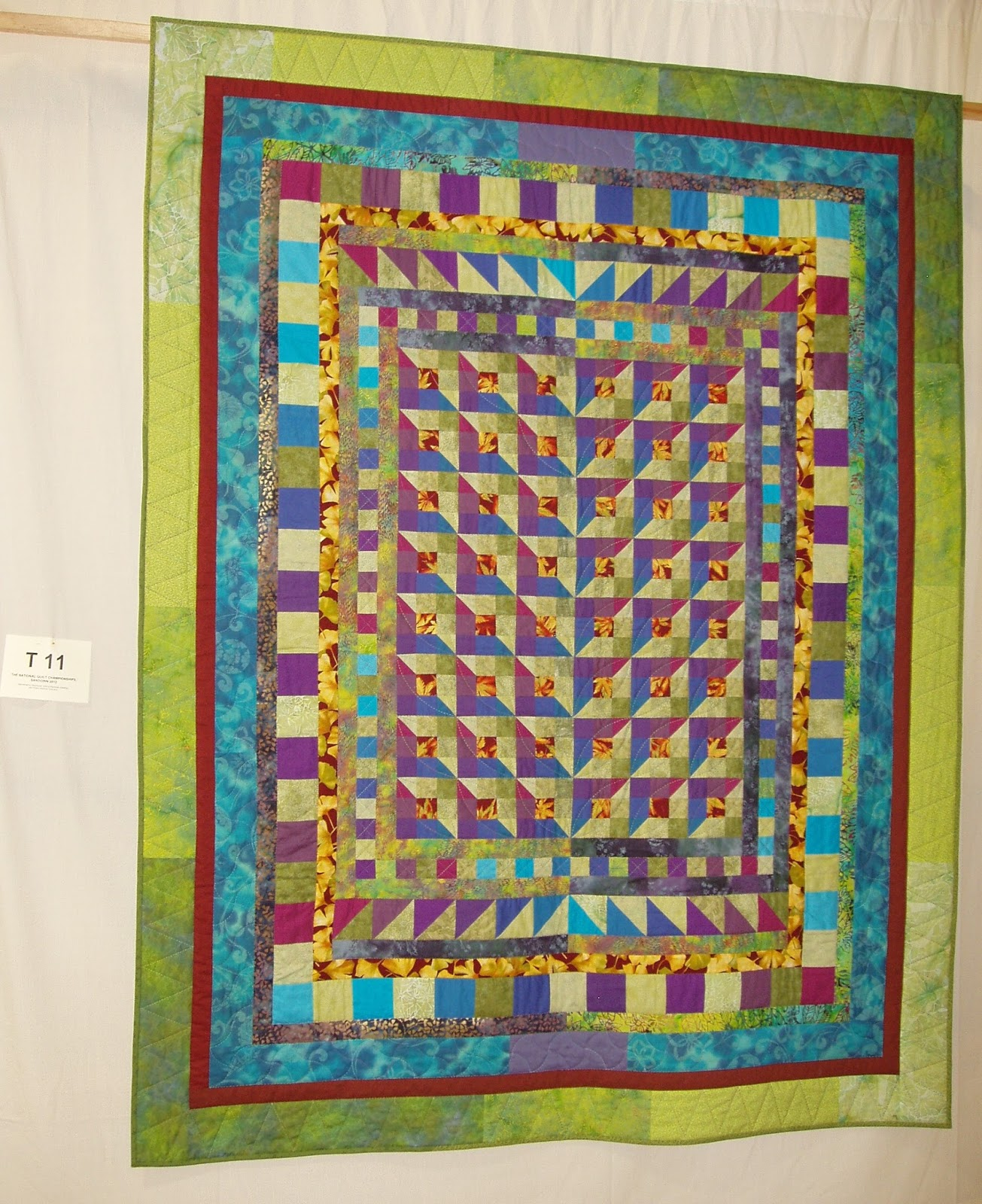 New Quilt Patterns For 2015 : sashiko and other stitching: Another new quilt pattern for the Great Northern Quilt Show...