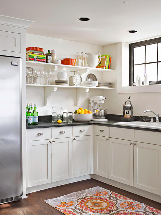 2013 White Kitchen Decorating Ideas From BHG Furniture Design