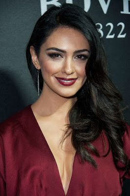 Nazanin Boniadi Beauty Girls Model Fashion Hairstyle