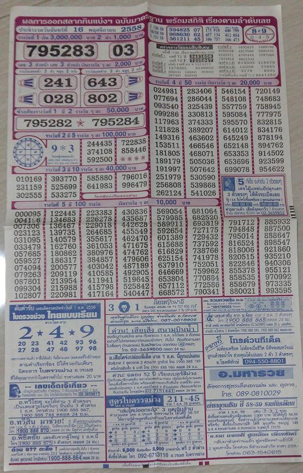 Thai Lotto 007
