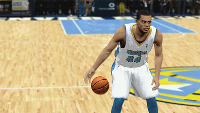 NBA 2K13 JaVale McGee Denver Nuggets Player Update