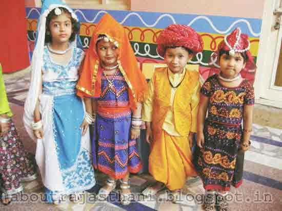 Rajasthani: Traditional Costumes of Rajasthan for Men and ...