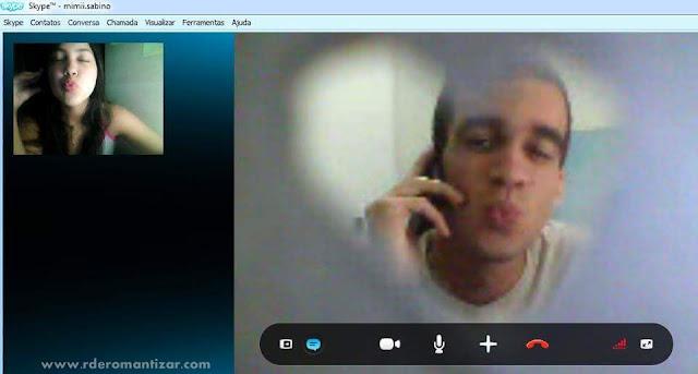 Amor à distância - Mariah & Jorge no Skype | R de Romantizar