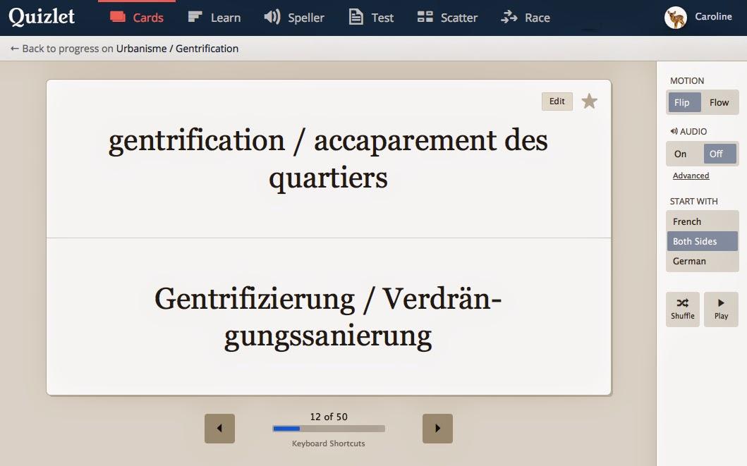 gentrification / accaparement des quartiers | Gentrifizierung / Verdrängungssanierung