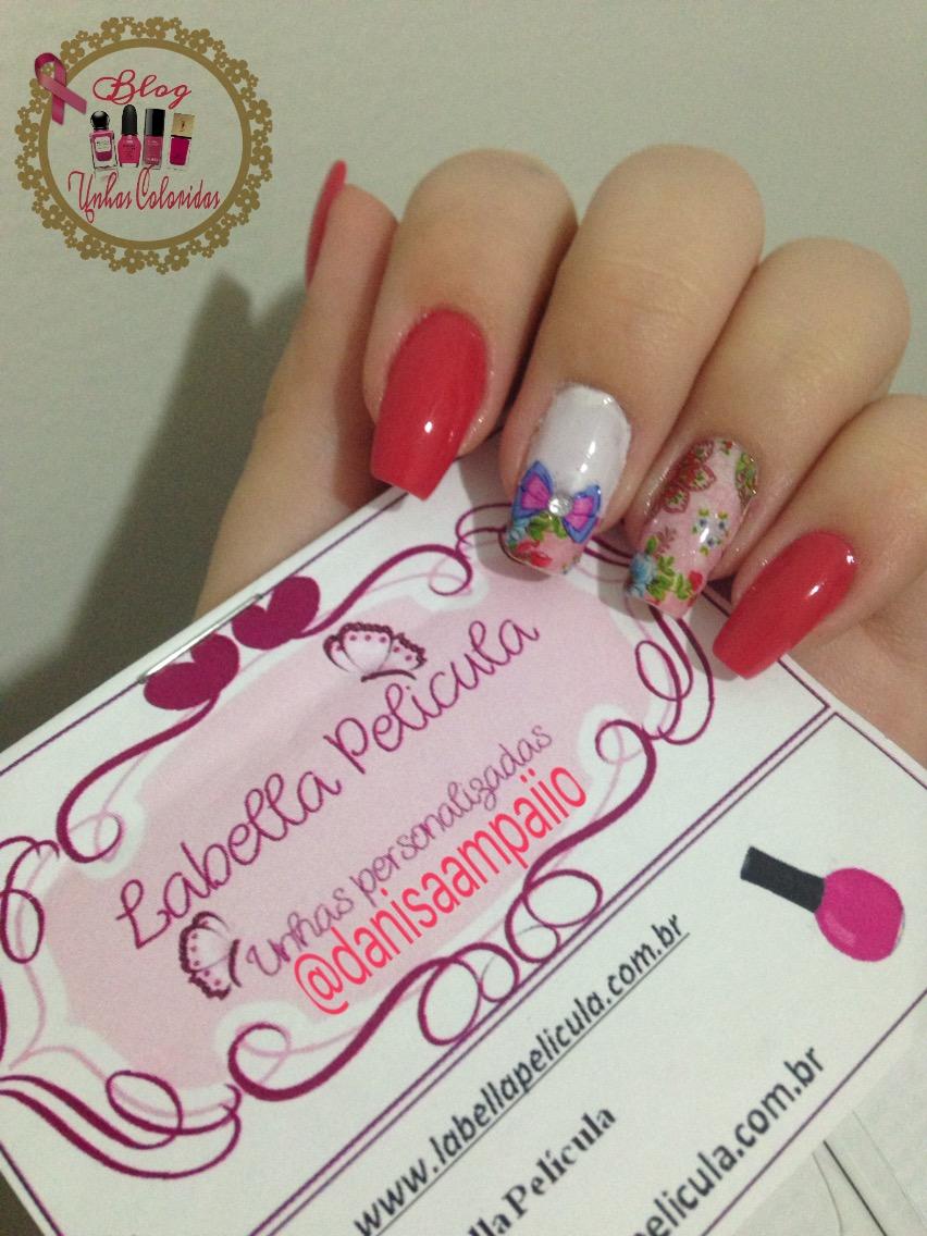 rosa chiclete bellia esmaltes
