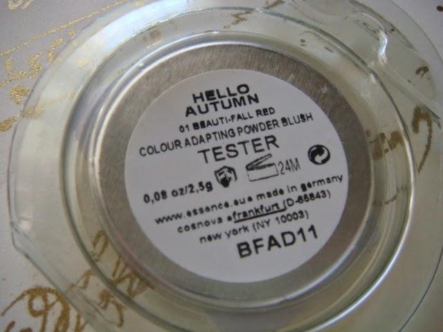Colour Adapting Powder blush de Essence
