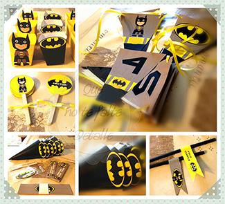 cumpleaños superhéroes batman