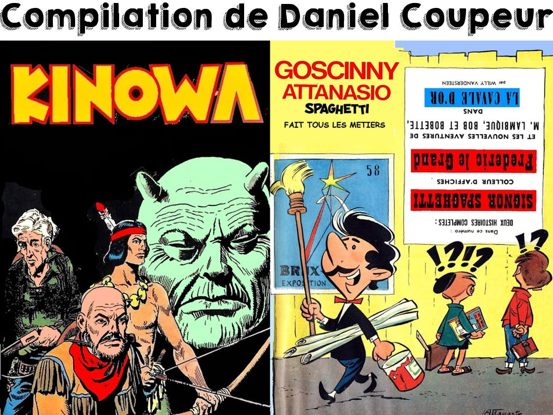 Compilations de Daniel Coupeur