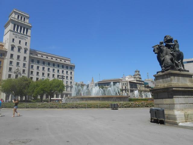площадь Каталония, Испания, Барселона