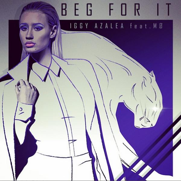 Iggy Azalea - Beg For It ft. MØ - Lyric Video